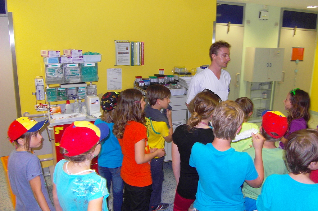 Volksschule Kraubath an der Klinischen Abteilung für Hämatologie