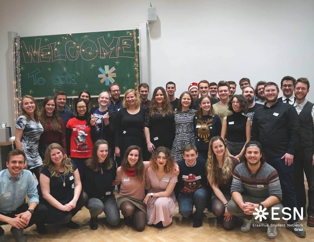 Weihnachtsfeier 2019 - ESN Uni Graz & ESN TU Graz